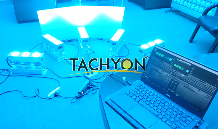 Automatic manipulation of Wall Washer RGB LED Light