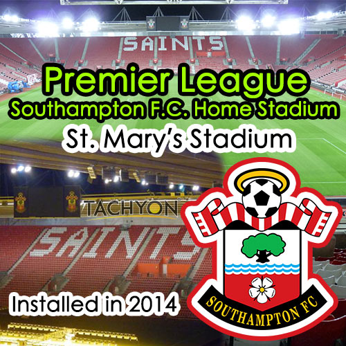 1000W High Power LED Football Stadium Flood Light-Application-Premier League St. Mary's Stadium Southampton FC