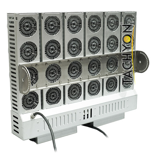 2000W High Power LED Stadium Light & Ball Field Flood Light-back view