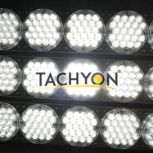 2000W High Power LED Stadium Light & Ball Field Flood Light-turn on