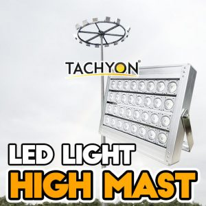 High Mast LED Stadium Flood Light, Indoor Sport Ball Field Lights & Large Area Lighting @ 1000W