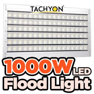 1000W LED Flood Light, Lampu sorot kolam | 150,000 LM, 30 Tahun Life Span